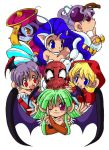 Spider-man And Darkstalkers 3 by Spidey-Portilla
