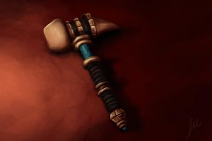 The War Hammer by Jessimie