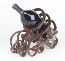 Large Wine bottel holder by VirginIron