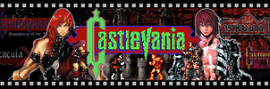 Castlevania Series Banner by MegaMac