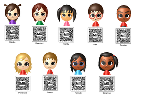 CHIBI Downloadable 3DS Mii's by Hatty-hime