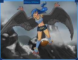 Hilary Willow - The Harpy by SassyDragon18