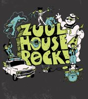 Zuul House Rock by HillaryWhiteRabbit