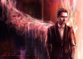 Tom Hiddleston by smitth