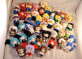 Mini-Plush Keychain Army 2 by Lexiipantz