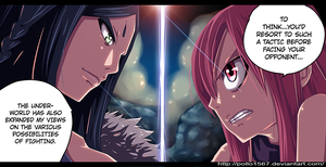 Ft-346 minerva vs erza by pollo1567