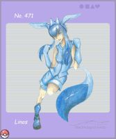 pkmn gijinka_glaceon by blackwinged-neotu