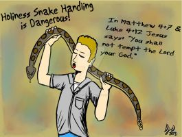 Holiness Snake Handling by ArtNGame215