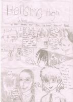 Hellsing Highschool page 1 by MageBunnyTheGreat
