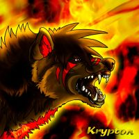 Krypton - speedpaint by AzureHowlShilach