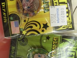 America and Germany Pins by Allyerion