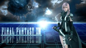 Final Tron Fantasy XIII by Triptych229