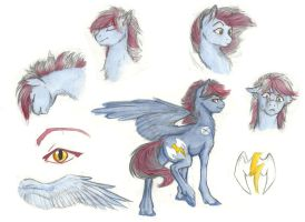 Pony Commish- Lightning by Earthsong9405
