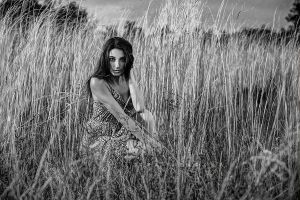Jackie Lapp IMG 7232ps BW x900 W by Wizardinc