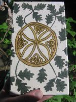 Celtic Oak Leaf Book 3 by whitestarflower