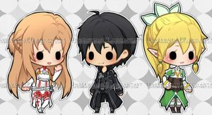 [BES] Sword Art Online by UnderworldPP