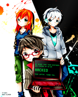 Hackers by MikiClover