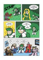 Despondent Mega Man - Snakes And Arrows by JesseDuRona