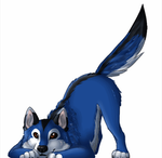 ..: Happy Tail Wagging - Animation Try :.. by Freewolf7