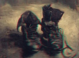 A Pair of Shoes 3-D conversion by MVRamsey