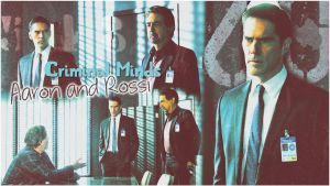 AARON AND ROSSI Criminal Minds by Anthony258