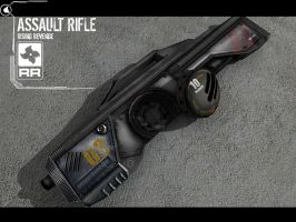 Assault Rifle Weapon by GeneralPeer