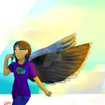 Cierra -Winged AU- by ThePikachuishere