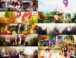 [SHARE PACK PSD] 7 years with SNSD!! by peheopopie
