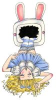 Alice In Televisionland by RustyRainbow