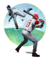Kershaw vs Trout by carts