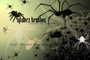 Spiderz Brushes by hawksmont