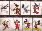 Mickey Through The Years by aerocrue13