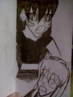 Me in Anime Full Demon and Inuyasha Scared. by Kogalover4ever