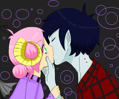 marshall lee X harmony by katherineprosperi