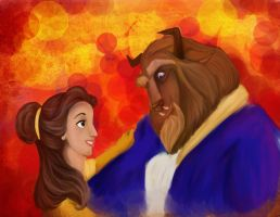 Beauty and the beast by samanthalagace