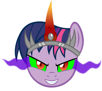 Corrupt Twilight Face by Alexstrazse