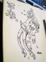 Lab Time 2- Dead at Space by MarcosMachina
