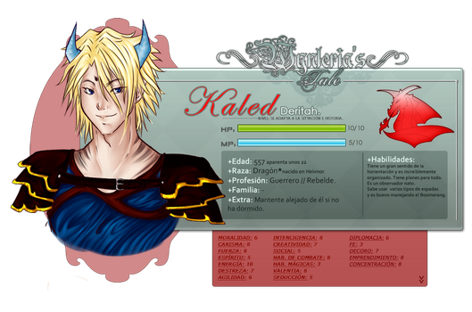 Npc: Kaled Derijah by Evertein