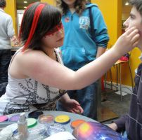 charity face painting :D by spirit0407