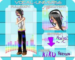 Vocal Universe.- Kiku kazeno by MerrySadness