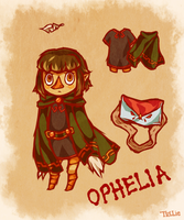Legend of Zelda OC: Ophelia by tellie-tale