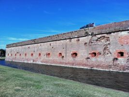 Battered Fort by Guillermo-da-Lucca