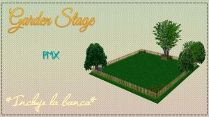 MMD| Garden Stage [DL] by Yoshi-Akira