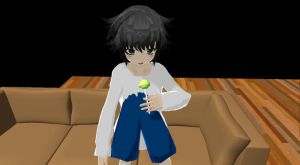 MMD Newcomer - L by MelissaChao