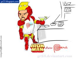 iron man peru by GR23