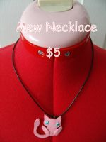 Mew Necklace by CynicalSniper