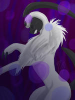 Absol trapped by Mo-fox