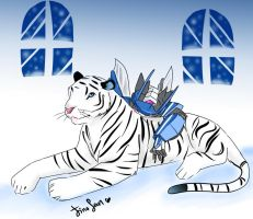 White Tiger good bye 2010 by JinoSan