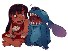 Lilo and Stitch by illictic