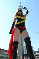 Ms Marvel In Toronto by BahamutDawnCreations